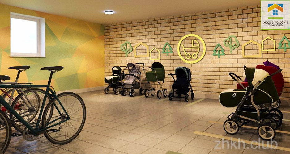 колясочная в жилом комплексе