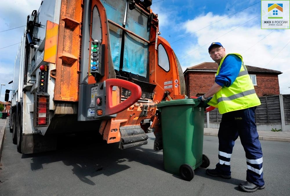 обслуживание мусорных контейнеров