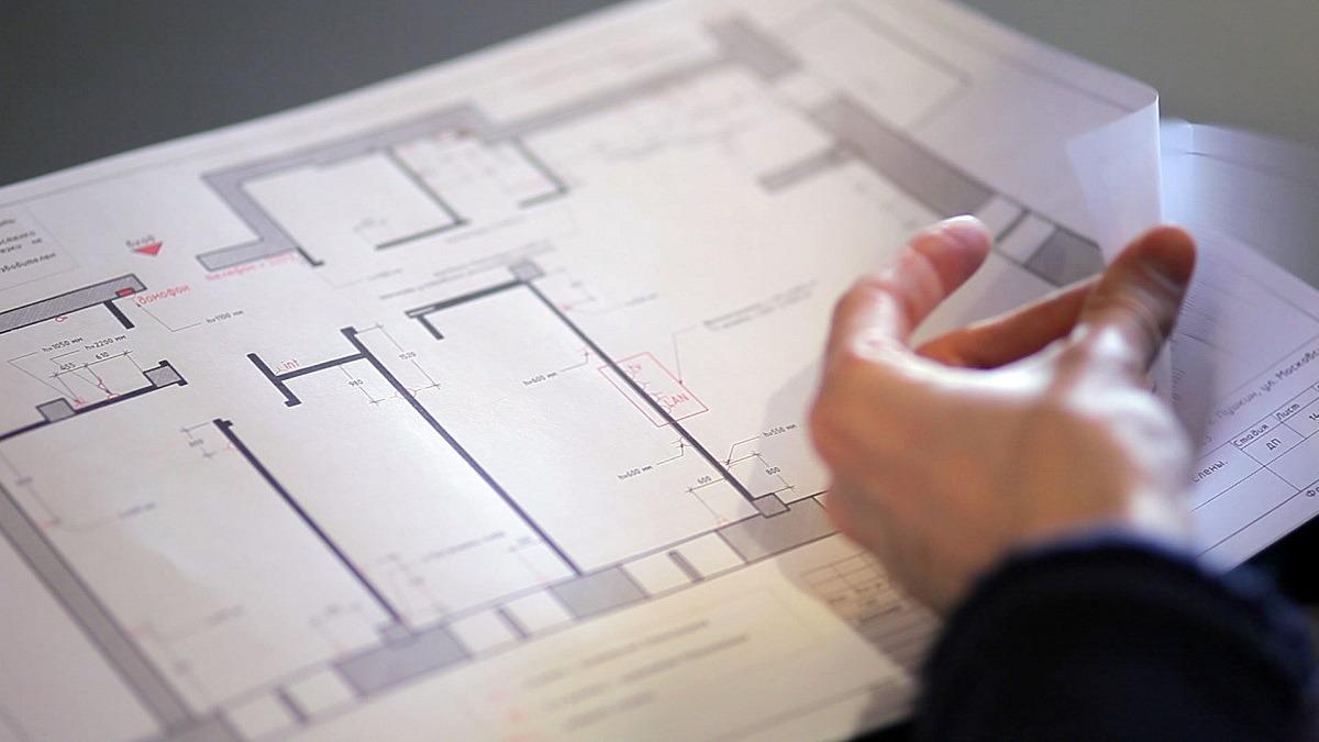 Поэтажный план и экспликация квартиры