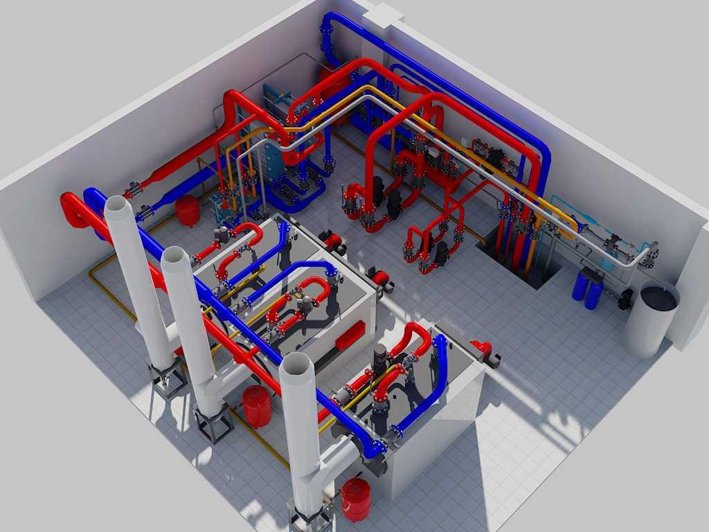 Установка системы отопления многоквартирного дома