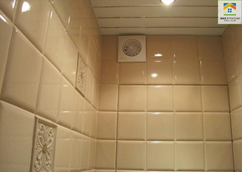 Вентиляционная шахта в туалете