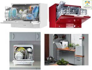 Виды настольных посудомоечных машин